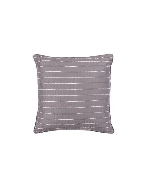 """Spectrum Home Antionette floral Decorative Pillow 18"""" x 18"""""""