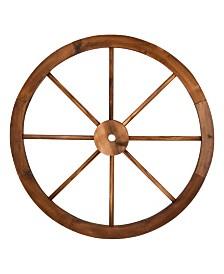 Decorative Wagon Wheel Trellis