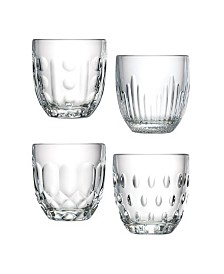 La Rochere 8 oz Assorted Tumblers - Set of 4