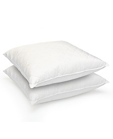 Stearns & Foster Quilted Feather Euro Pillow 2-Pack