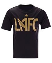 best authentic 47470 8670c adidas Little Boys Los Angeles Football Club Locker Stacked T-Shirt