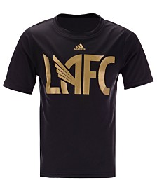 adidas Little Boys Los Angeles Football Club Locker Stacked T-Shirt