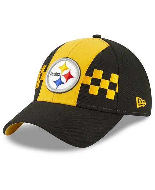 01cd4db4 Women's Pittsburgh Steelers Draft 9TWENTY Strapback Cap