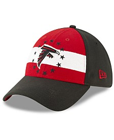 New Era Little Boys Atlanta Falcons Draft 39THIRTY Stretch Fitted Cap
