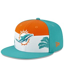 New Era Little Boys Miami Dolphins Draft 9FIFTY Snapback Cap