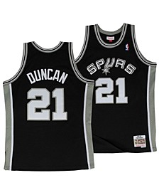 Big Boys Tim Duncan San Antonio Spurs Hardwood Classic Swingman Jersey