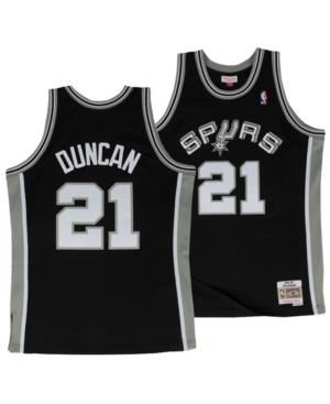 Mitchell & Ness Big Boys Tim Duncan San Antonio Spurs Hardwood Classic Swingman Jersey