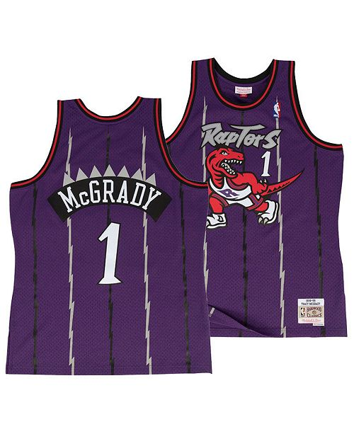 d934e1f74433 ... Mitchell   Ness Big Boys Tracy McGrady Toronto Raptors Hardwood Classic Swingman  Jersey ...