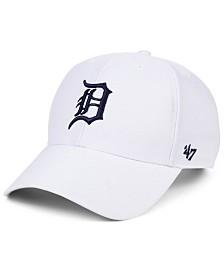 '47 Brand Detroit Tigers White MVP Cap