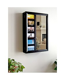 Products Belissimo Collection Venice Wall Mount Jewelry Armoire