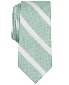 Bar III Men's Lovett Stripe Skinny Tie, Created for Macy's