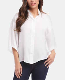 Karen Kane Relaxed-Fit Shirt