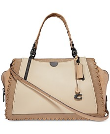 COACH Whipstitch Colorblock Mixed Leather Dreamer 36