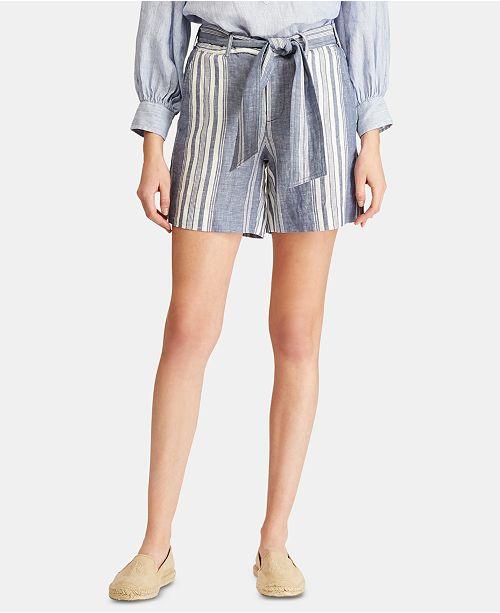 Lauren Ralph Lauren Lightweight Linen Shorts