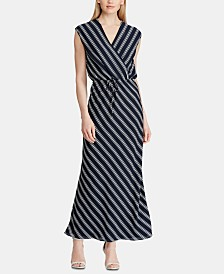 Lauren Ralph Lauren Striped Maxidress
