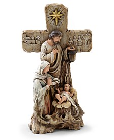 Holy Family With Cross