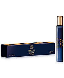 Versace Men's Dylan Blue Pour Homme Eau de Toilette Travel Spray, 0.3-oz.