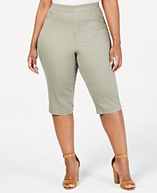 Sound/Style Lucy Plus Size Colored Skimmer Jeans