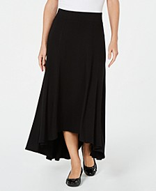 High-Low A-Line Skirt, Created for Macy's