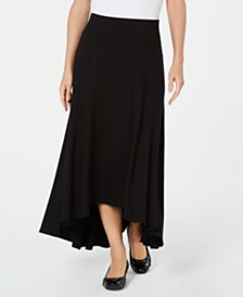 JM Collection Petite High-Low Skirt, Created for Macy's