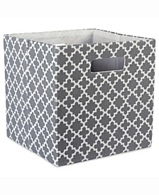 Design Import Storage Cube Solid, Square