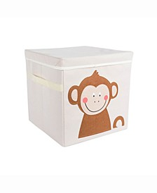 Kid Cube Monkey, Square with Lid