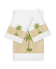 Linum Home Colton Embellished Towel Collection