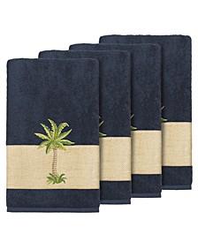 Turkish Cotton Colton 4-Pc. Embellished Bath Towel Set