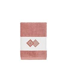 Linum Home Turkish Cotton Noah Embellished Washcloth