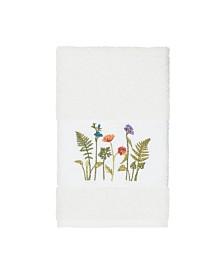 Linum Home Turkish Cotton Serenity Embellished Hand Towel