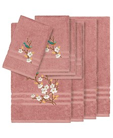 Linum Home Turkish Cotton Springtime 8-Pc. Embellished Towel Set