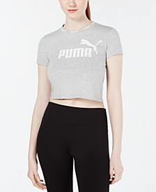 Amplified Logo Cropped T-Shirt