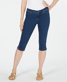 Charter Club Petite Danbury Tummy-Control Skimmer Jeans, Created for Macy's