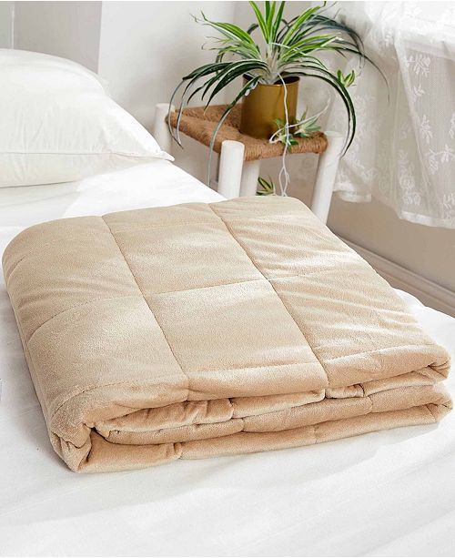 Dream Theory 15 lbs Faux Mink Weighted Blanket