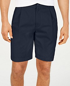 """Men's Double-Pleated 9"""" Shorts, Created for Macy's"""