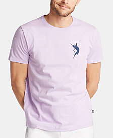 Nautica Men's Catch & Release Cotton Graphic T-Shirt, Created for Macy's