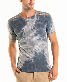 South Sea Blotch Wash Crewneck Tee