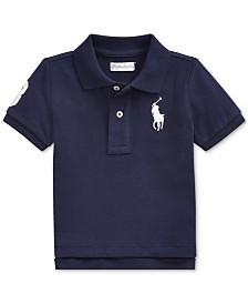 Polo Ralph Lauren Baby Boys Cotton Mesh Polo Shirt