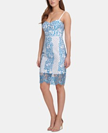 GUESS Lace Bodycon Dress