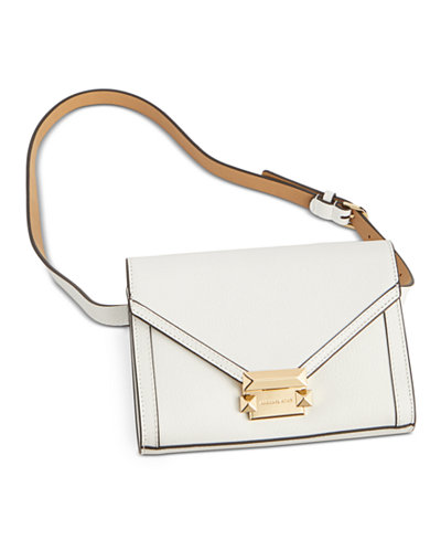 MICHAEL Michael Kors M Leather Belt Bag