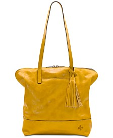 Patricia Nash Leather Brights Rochelle Satchel