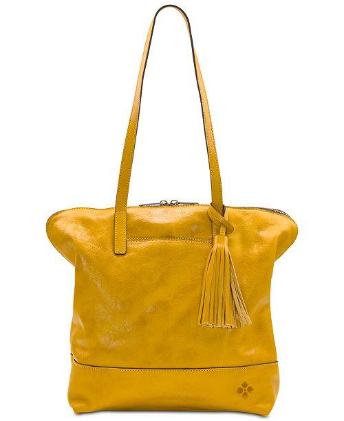 Patricia Nash Leather Brights Rochelle Satchel