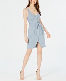 OAT Striped Denim Dress