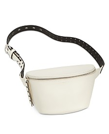 Calvin Klein Leather Grommet Belt Bag
