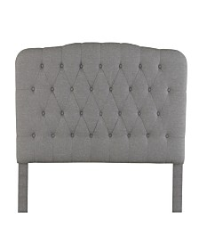 Ultima Ava Adjustable Upholstered Linen Headboard