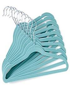Velvet Baby Clothes Hangers Set of 10