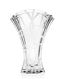 "Godinger Ceska Arcadia 12"" Vase"