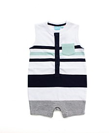 Baby Boy Striped Romper Tank