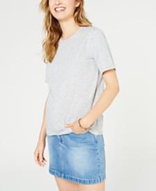 MICHAEL Michael Kors Petite Cotton Logo-Print T-Shirt