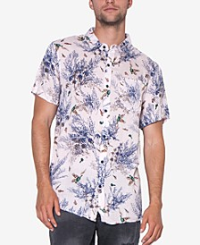 Men's Party Cotton Button-Down Shirt